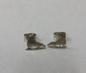 Silverörhängen skridskor